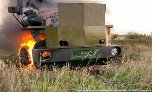 Боевики обстреляли военных под Мариуполем