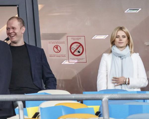 Татьяна Донец с Денисом Дзензерским