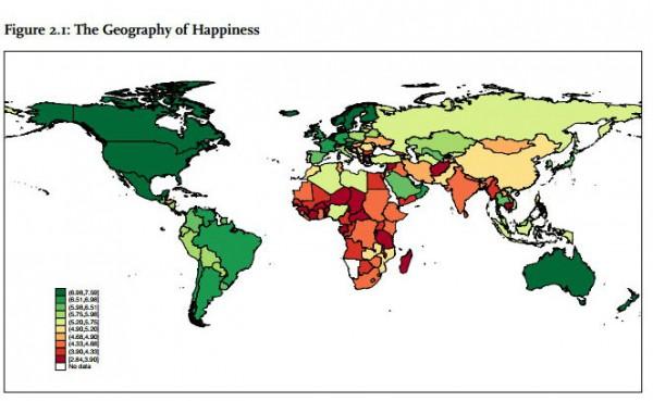 Рейтинг счастливых стран