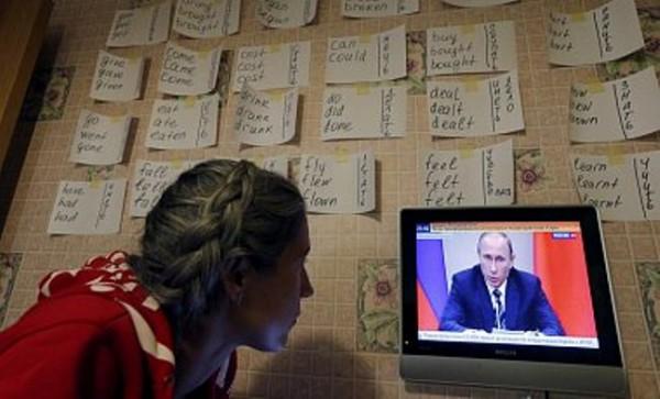 Россия усилила пропаганду на телеканалах
