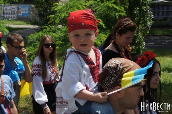 Парад вышиванок в Николаеве 24 мая