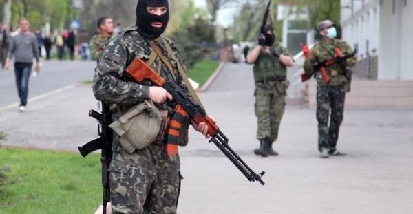 Луганчане дают отпор пьяным боевикам