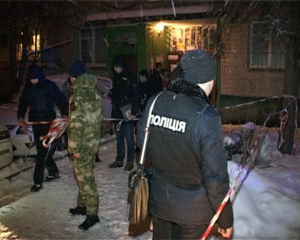 Стрельба произошла на Русановском бульваре, ночью 11 января