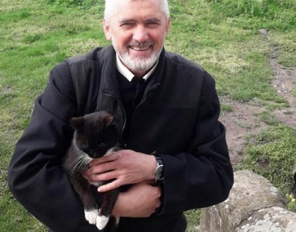 Хозяин кота счастлив, что с животным все в порядке