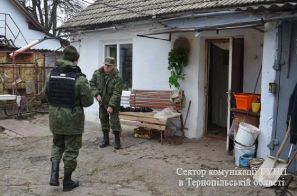 На Тернопольщине боец АТО взорвал гранату