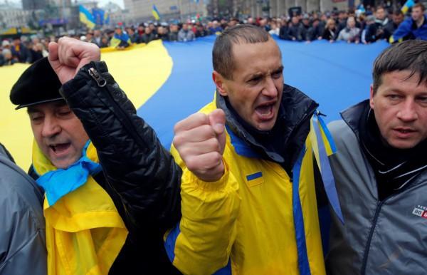 Майдан Незалежности, 1 декабря 2013 года