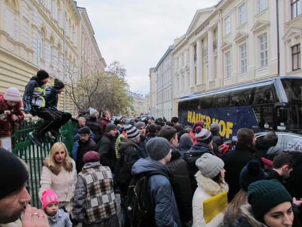 Приезд мадридского Реала вызвал ажиотаж во Львове