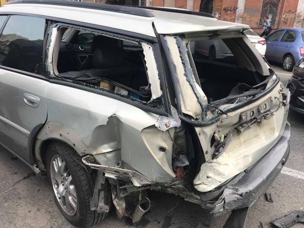 Одного из водителей госпитализировали