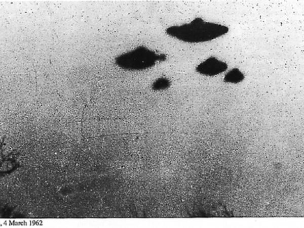 Документы про НЛО рассекретили