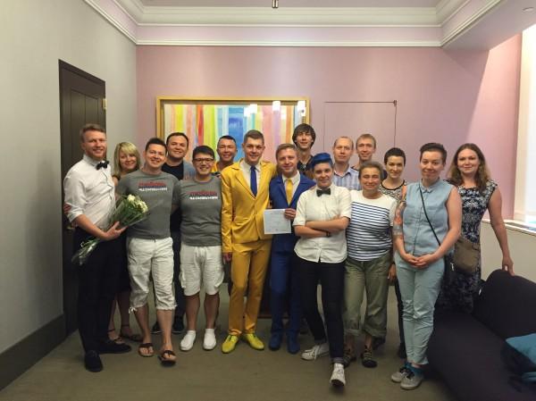Свидетельницей на свадьбе украинцев стала россиянка