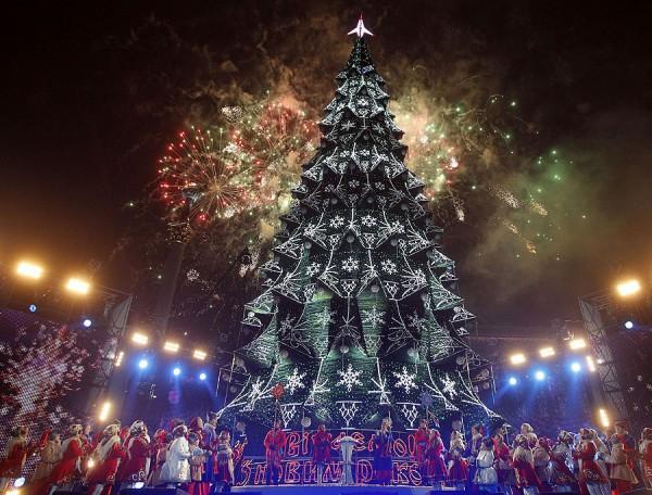 Новогодняя елка в 2013 году