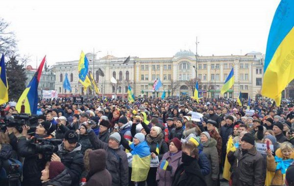 Марш мира в Харькове