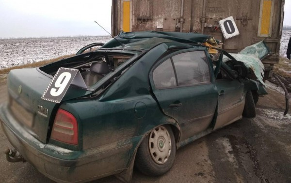 ДТП произошло на отрезке дороги Кропивницкий – Кривой Рог