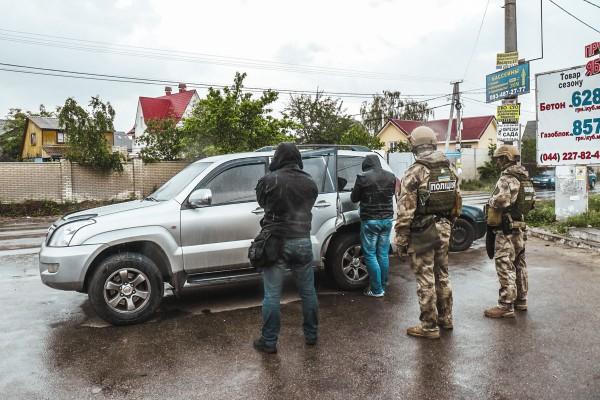 По данным правоохранителей, задержанных было пятеро