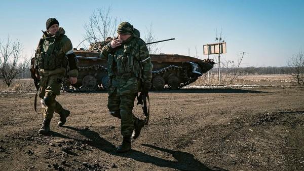 Российские контрактники едут на Донбасс