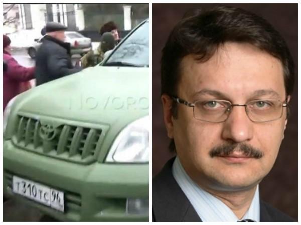 Боевики используют номера автомобиля Эдуарда Коридорова