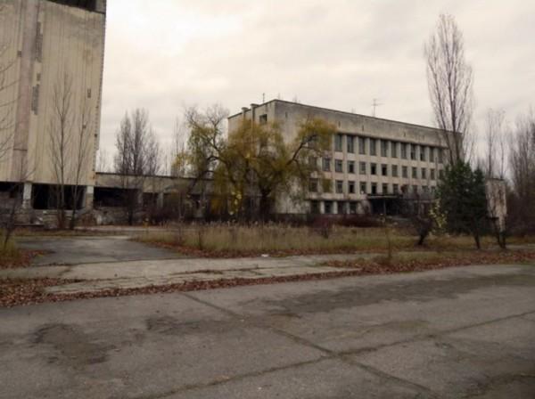 Заброшенное здание горкома сегодня