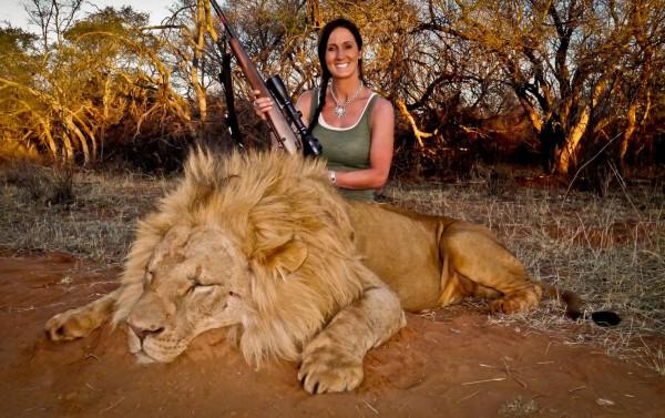 Убила этого красавца с 60 ярдов. Какая была охота!»