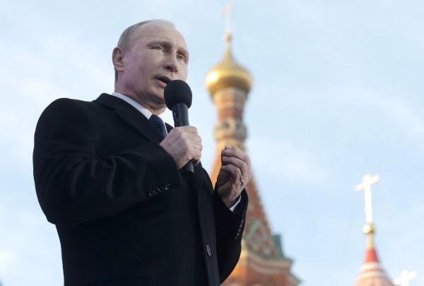 18 марта в Москве отметили годовщину аннексии Крыма