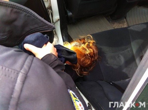 Во время задержания Бережная сопротивлялась