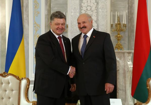 Порошенко и Лукашенко встретились в Минске
