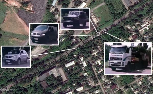 В обновленной базе Google Earth появился снимок с Буком в Макеевке