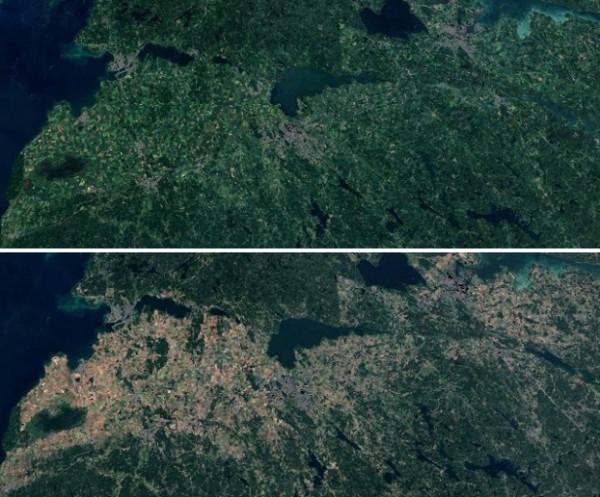 Лен Эстерйотланд в 2017 и 2018 годах