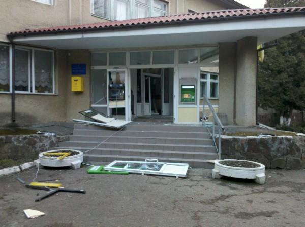 На Прикарпатье подорвали местную поликлинику