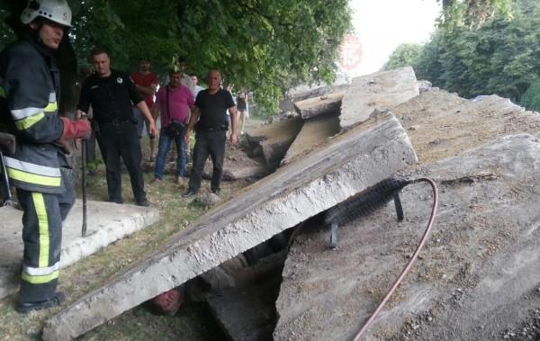 Инцидент произошел на проспекте Грушевского