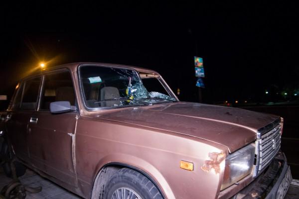 Водитель после аварии был в шоковом состоянии