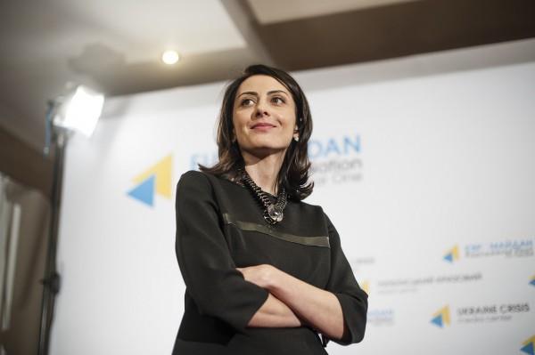 Хатия Деканоидзе - глава Нацполиции Украины