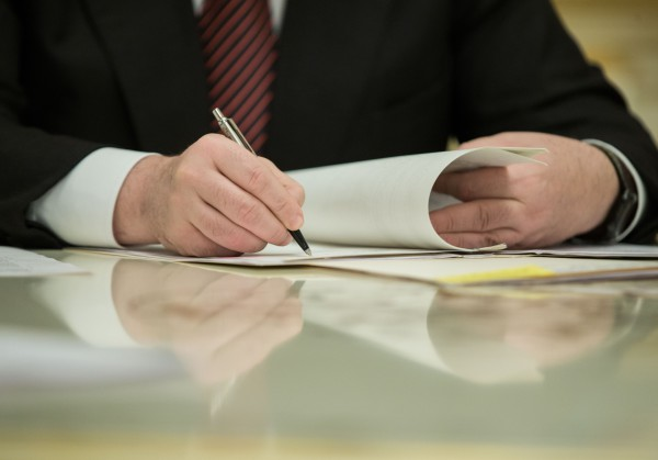 Президент подписал указ о награждении военных