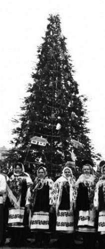 Новогодняя елка в 1993 году