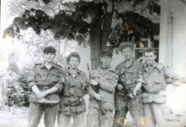 Фото в молдавском селе Рашков