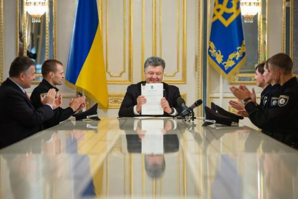 Порошенко подписал закон о полиции