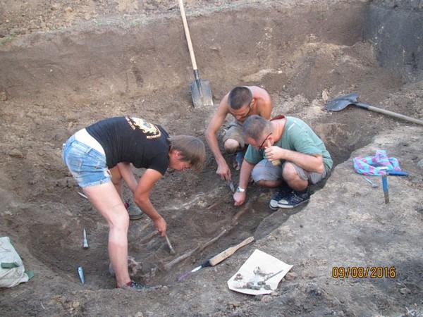 В Днепропетровской области обнаружили скифское захоронение
