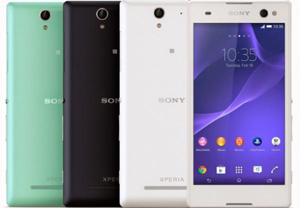 Ключевой особенностью Sony Xperia C3 стала его фронтальная 5-МП камера со вспышкой