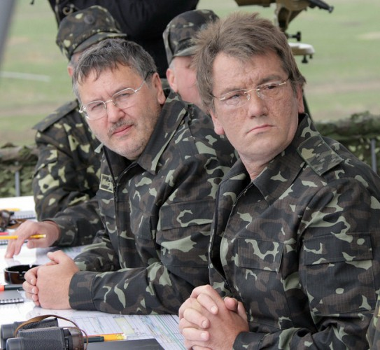 Анатолий Гриценко и Виктор Ющенко