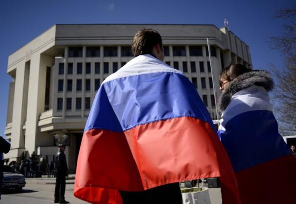 На съезде оккупантов появились слова измененного российского гимна