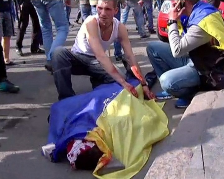 В беспорядках в Одессе погибли 42 человека