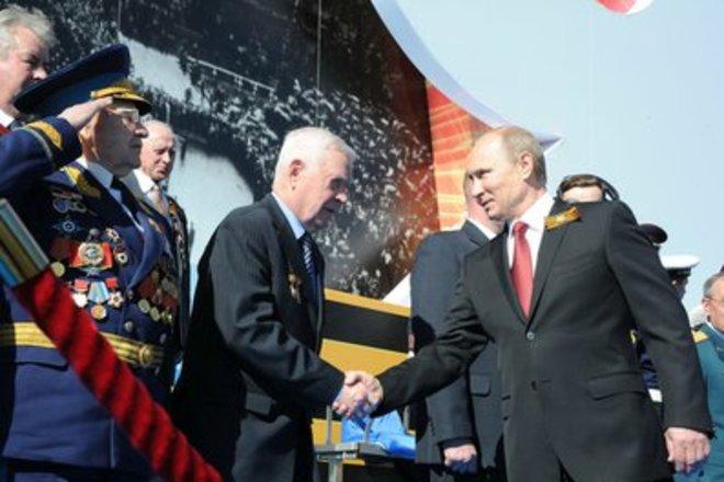 Президент РФ приехал в Севастополь