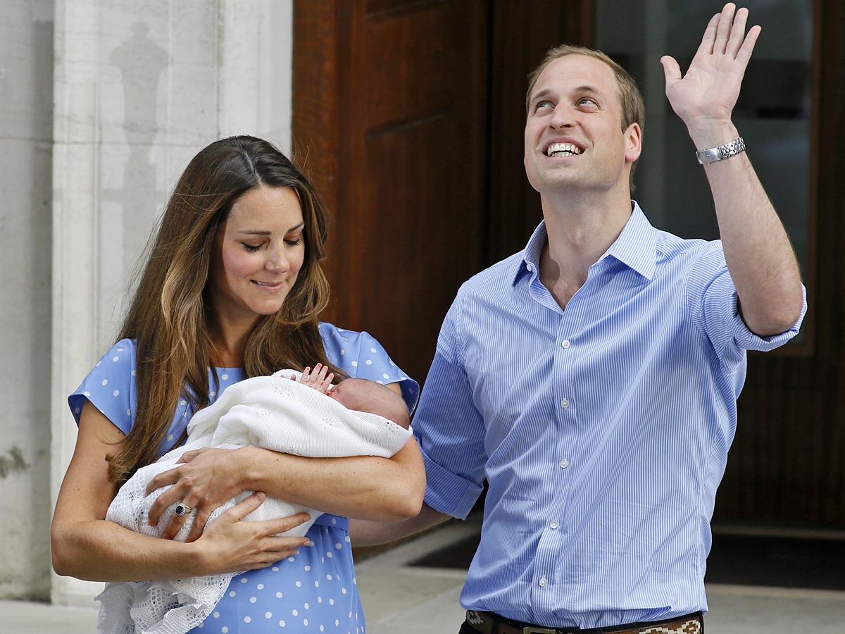 Первые фото новорожденного наследника британского престола