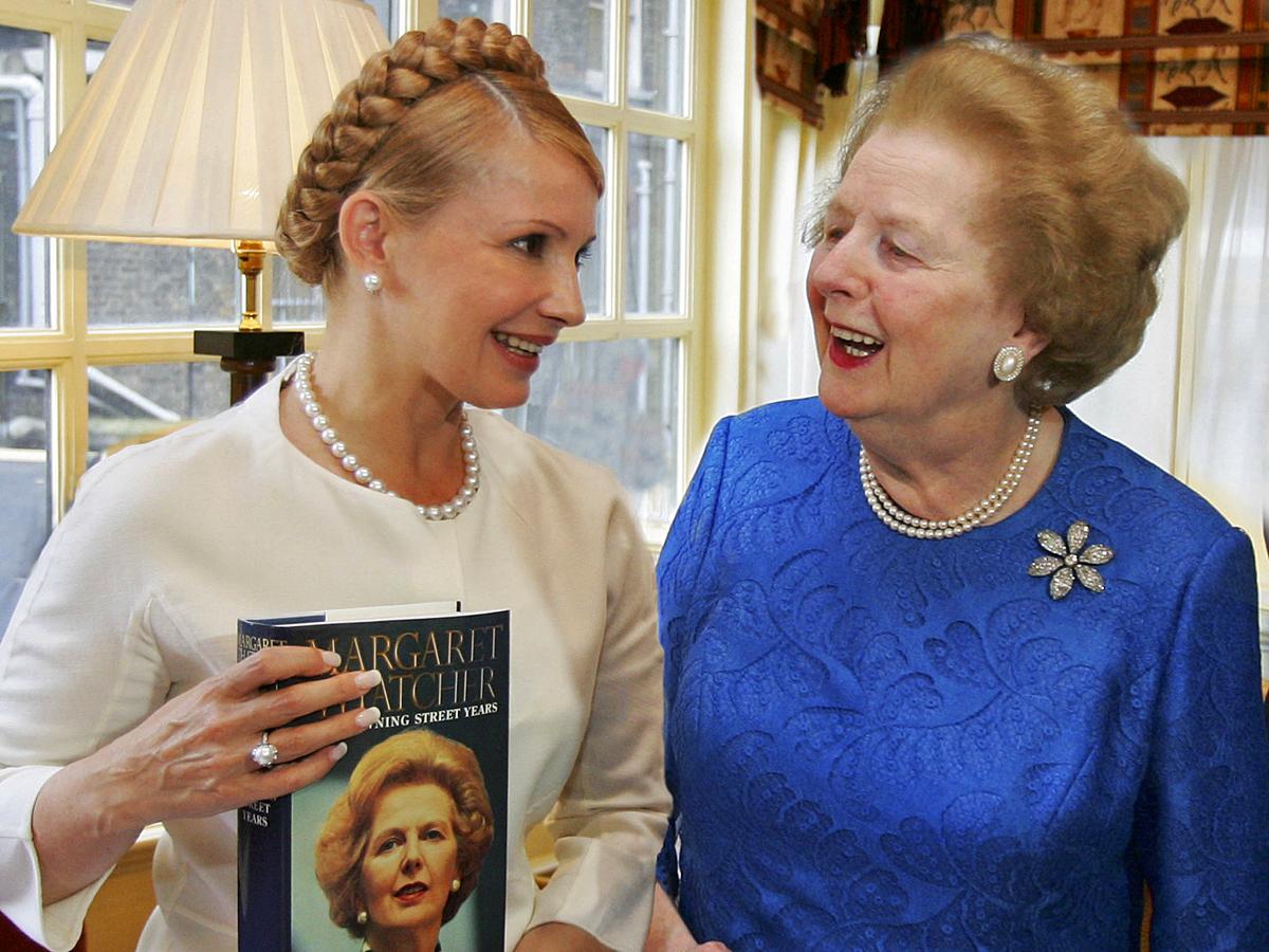 Маргарет Тэтчер показала мне, каким должен быть настоящий лидер и настоящий политик, - Тимошенко - Цензор.НЕТ 8394