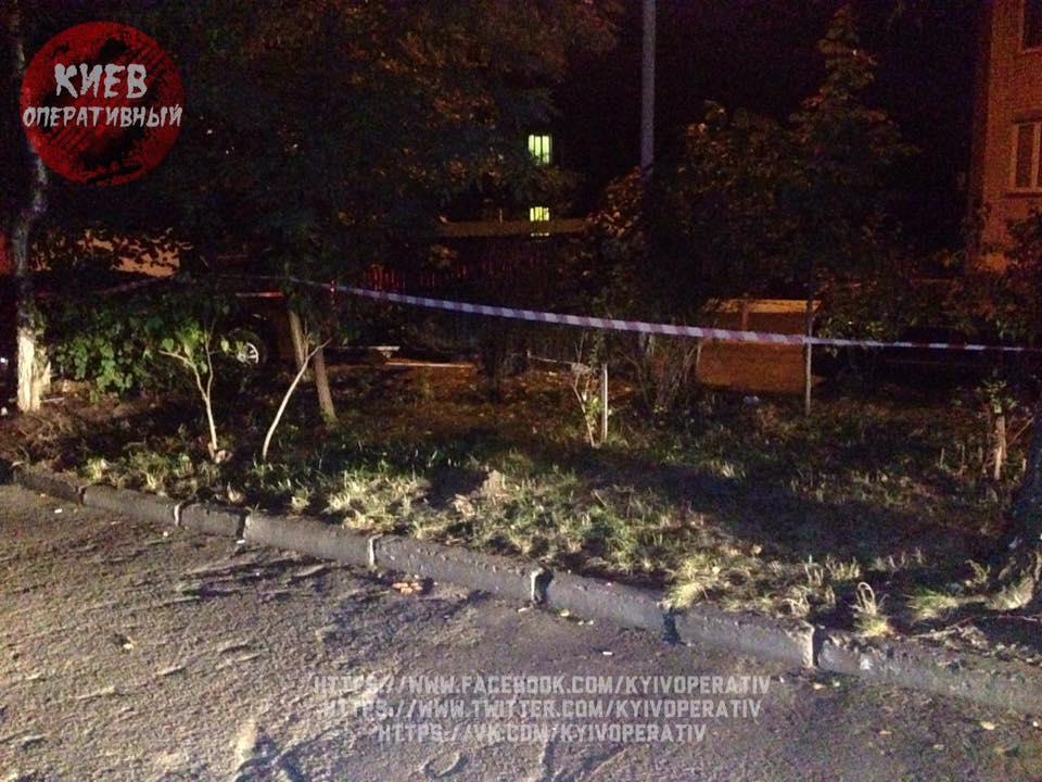 ВКиеве наВетряных горах около жилых домов отыскали боевой снаряд