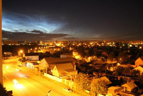 Свечение над Челябинском