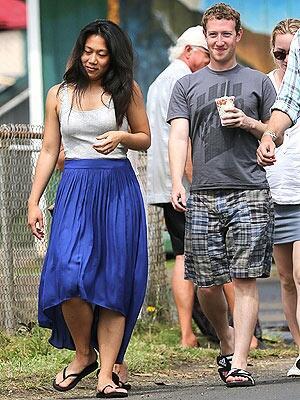 Цукерберг с женой скромно отдыхают на Гавайских островах