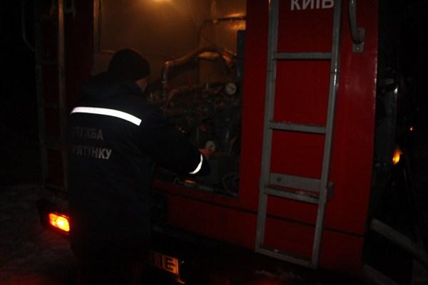 ВКиеве натрансформаторной подстанции произошел пожар