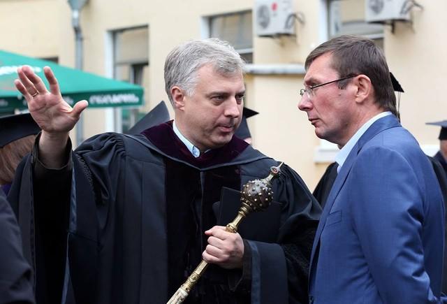 Юрий Луценко посетил Киево-Могилянскую академию