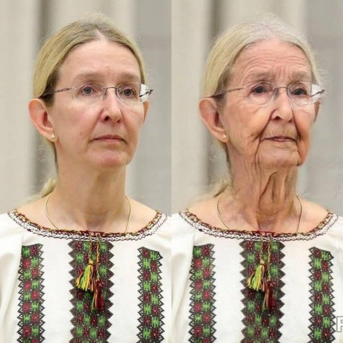 Супрун в старости
