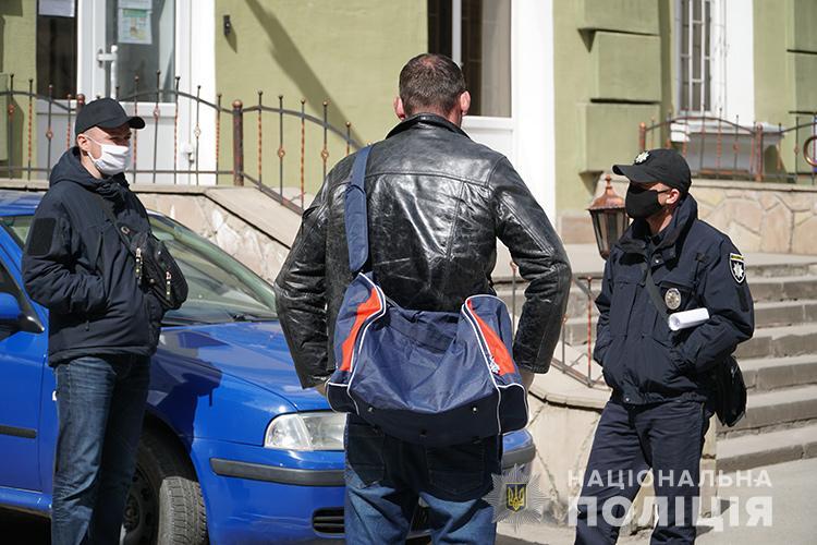 На место инцидента прибыла полиция
